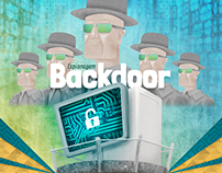 Infográfico - Espionagem Backdoor