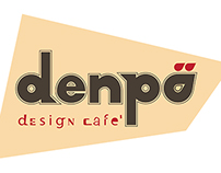 denpo design cafe Logo