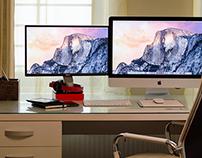 Personal Desk Design & Responsive Device Mockups