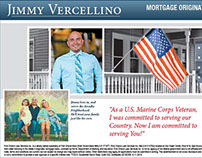 Jimmy Vercellino Mortgage Loans Ad