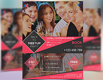 Meetup Party Event Flyer Template
