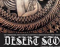 Desert Storm Tour Poster