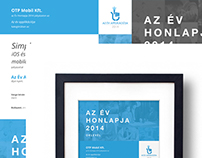Website of the Year Competition, diploma graphic design