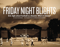 """Friday Night Blights"" cover for Washington City Paper"