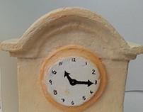 Old Fashoined Clock Model