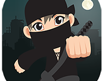Ninja Kid Aventure: Mobile game design