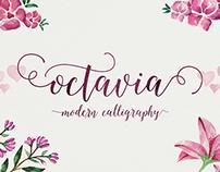 Octavia Script - Modern Calligraphy Typefaces