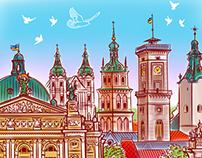 Lviv / Kharkiv / Donetsk / St.Petersburg