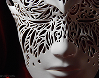 Dreamer Mask: Flourish (3D printed)
