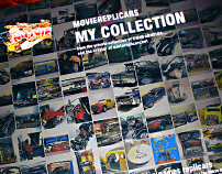 My First Book:  MovieRepliCars My Collection
