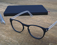 Eyeglasses / hinges semplification / contemporary frame