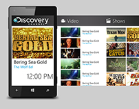 Discovery app for Windows Phone Store