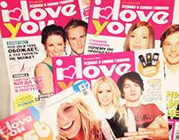 Magazine I Love You, 2006-2007,  Bauer Russia