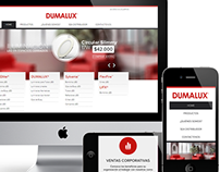 DUMALUX Web Design and Development