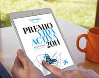 """PREMIO VIDA ACTIVA """"La Caixa""""/ Epub FL"""
