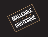 Malleable Grotesque Posters