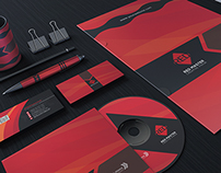 Red Style Corporate Identity