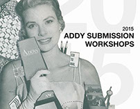 Addy Submission Workshops Poster