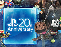 Playstation | 20 Years of Characters