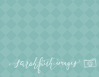 sarah faith images.   Logo & Branding