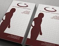 Cartão de Visitas para CS Advogados Associados