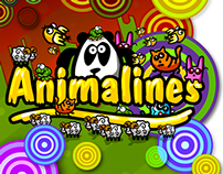 "Funny game for kids ""Animalines"""