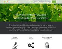 Web design http://www.freshproducedatabase.org/