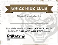 Oakland University   Grizz Kidz Club