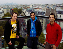Rooftop Zut, Paris 18, oct.11