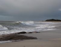 Un peu de vent sur notre plage