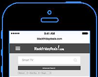BlackFridayDeals.com - Mobile View