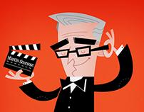 Martin Scorsese Vector