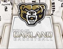 Oakland University   Basketball Program 2014-15