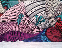 Mural para catálogo Pizantex S.A.