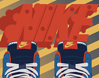 Nike Dunks Illustration