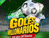 Goles millonarios, junio 2014