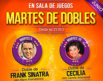 Martes de dobles, junio 2014
