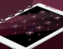 Pink Leaf Tablet Edition