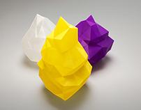 Argón y Kriptón 3D Printed Lamps