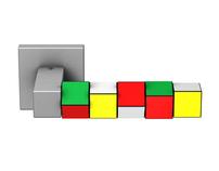 """door handle """"Rubik's Cube"""""""