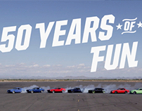 Ford Mustang - 50 Years of Fun