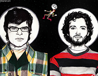 FLIGHT OF THE CONCHORDS (Portrait and Speed Drawing)