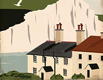 Bluebirds Over the White Cliffs of Dover Prints $13.75