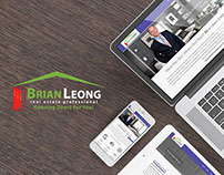 Brian Leong - Real Estate Website