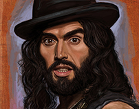 RUSSELL BRAND Portrait