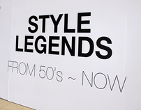 "Exhibition ""STYLE LEGENDS"" Milk X 5th anniversary"