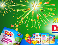 Dole - Tet's Holiday Print Ads