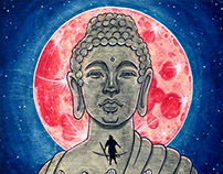 Buddha and Monkey