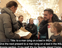 Mega and Ikea give presents for Free!