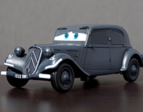 CARS ST NO.3 / 1/35 Citroen Traction 11CV / TAMIYA
